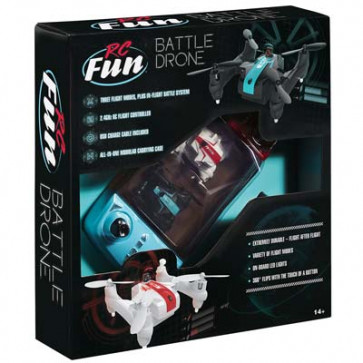 RC Fun Micro Battle Drone Set Infrared Technology RTF
