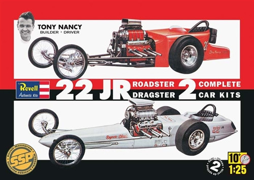 rmx851224 revell 1 25 tony nancy dragster set ssp model. Black Bedroom Furniture Sets. Home Design Ideas
