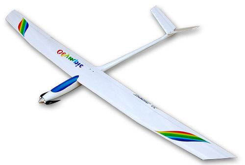 top02084 topmodel olympic sailplane arf white yellow remote controlled hobby. Black Bedroom Furniture Sets. Home Design Ideas