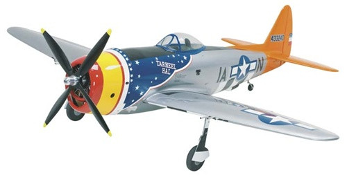 Topa0703 Top Flite Giant Scale P 47 Thunderbolt Arf Remote