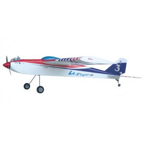 AIRBORNE MODELS LA Flyer 40, Blue
