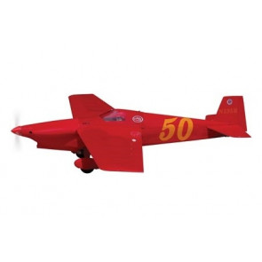 AIRBORNE MODELS Outrageous 40 Size for EF1 Class Racing ARF, RED