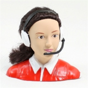 AirBorne Models 1/4 Scale Female Pilot, RED