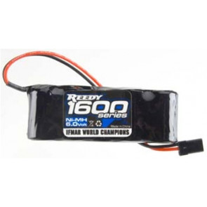 Associated Reedy NiMH 5C 6.0V 1600mAh Flat Rx Pack