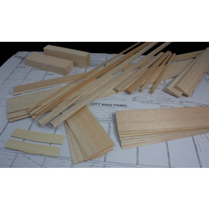 BALSA USA Stick 40 Plus Wing Kit