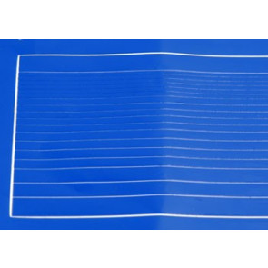 COVERITE GRAPHICS STRIPES BLUE