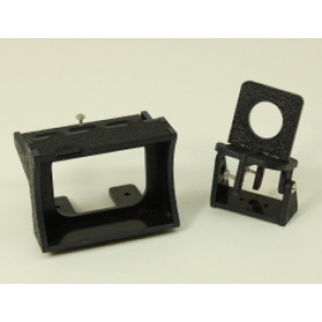 CXN Designs Fixed GoPro w/FPV Pan/Tilt Camera Mount