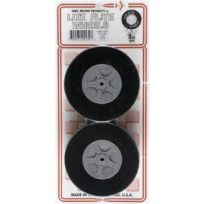 "Dave Brown Lite Flite Wheels 3-1/4"" (2)"
