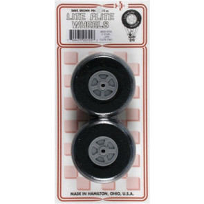 "Dave Brown Treaded Lite Flite Wheel 2-1/2"" (2)"
