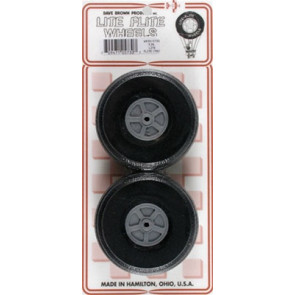 "Dave Brown Treaded Lite Flite Wheel 3"" (2)"