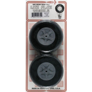 "Dave Brown Treaded Lite Flite Wheel 3-1/4"" (2)"