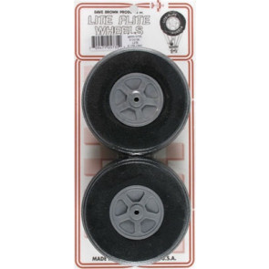 "Dave Brown Treaded Lite Flite Wheel 3-1/2"" (2)"