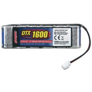 Duratrax NiMH 6-Cell 7.2V 1600mAh Flat Pack RC18 Series