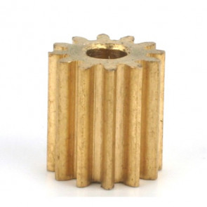 E-flite Pinion Gear, 12T 0.4 Module 2mm ID