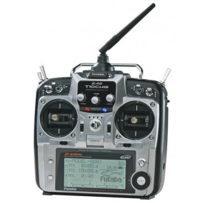 Futaba 10CHG 2.4GHz Integrated R6014HS Heli Mode 2