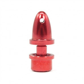 GEMFAN Prop Adapter, 3.17mm, Red