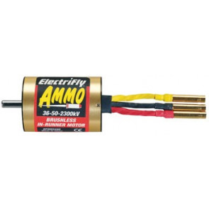 Great Planes Ammo 36-50-3300Kv Brushless Inrunner Motor