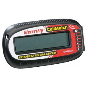 Great Planes Electrifly CellMatch 2S-6S Balancing Meter