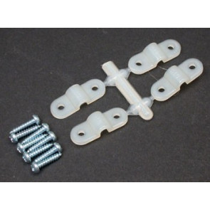 "Great Planes Landing Gear Strap 1/8"" (4)"