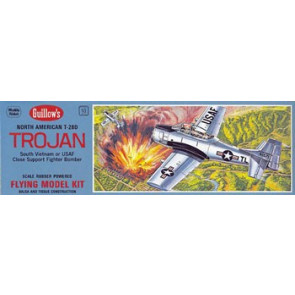 Guillows North American T28 Trojan Model Kit