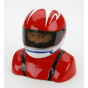 HANGAR 9 35%-40% Painted Pilot Helmet Red/White/Blue