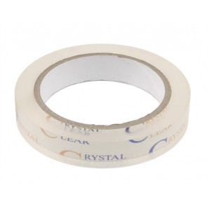 "CRYSTAL CLEAR HINGE TAPE 3/4"" X 72YARDS"