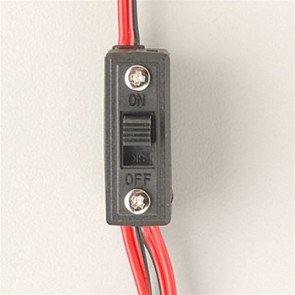 HITEC Switch Harness w/Charge Connector UNIVERSAL