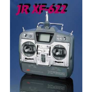 JR 6ch XF622 Airplane Transmitter