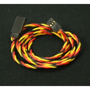 KT-2007A-9 Extension Wire, JR, Twisted, 22AWG, 48""