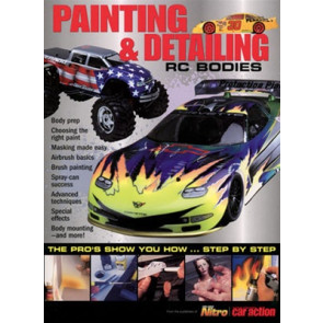 MAN1011 MODEL AIRPLANE NEWS Painting & Detailing RC Bodies