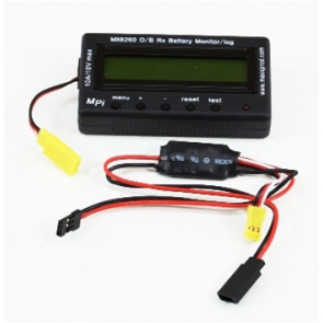 MAXMX8260 MAXX PRODUCTS ONBOARD RX BATTERY MONITOR/LOG