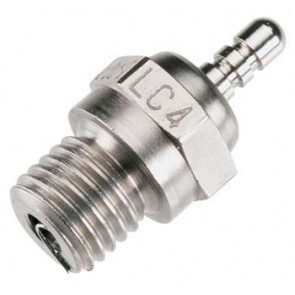OSMPLC4 OS ENGINES Long Reach Glow Plug, Med