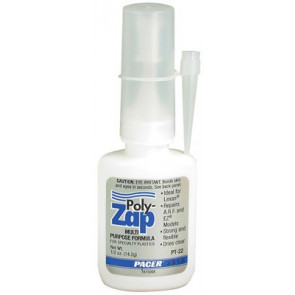 PAAPT22 PACER ZAP POLY ZAP 1/2 OZ