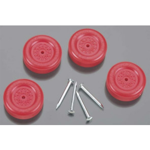 Revell Official Boy Scout Wheel & Axle Set Red