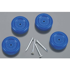 Revell Official Boy Scout Wheel & Axle Set Blue