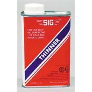 SIG SUPERCOAT THINNER, PINT