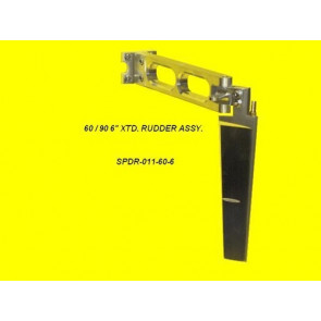 SPEED MASTER RUDDER ASSEMBLY 60 XTD 6IN
