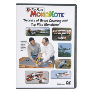 Top Flite MonoKote Covering Instructional DVD