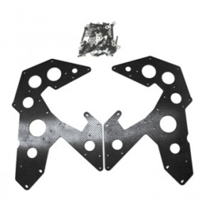THUNDER TIGER CARBON LOWER SIDE FRAME