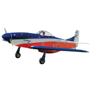 AirBorne Models P-51 MUSTANG 40 size MISS AMERICA