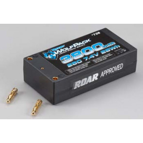 Associated WolfPack LiPo 2S 7.4V 3800mAh 25C Shorty