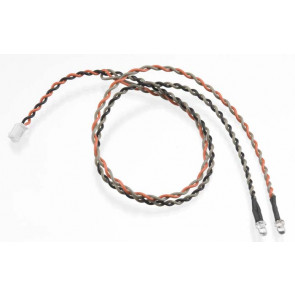 Axial Double LED Light String Orange