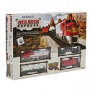 Bachmann Red Rock Express Train Set HO