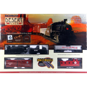 Bachmann HO Desert Flyer Electric Train Set