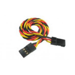 "BP Hobbies 7cm (2.8"") 26AWG JR twisted Extension wire (2 Males)"