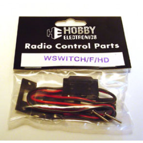 Hobby Electronics Switch Harness With Charge Lead 22 AWG