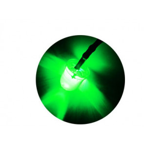 Common Sense RC Pre-wired 3mm Green Led 2-pack