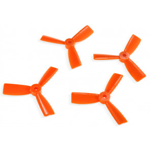 "DAL 3"" 3045 3-Blade Bullnose Propeller, Orange"