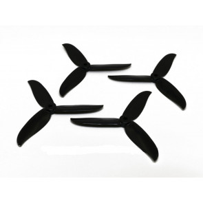"DAL 5"" T5046C 3-Blade Cyclone Propellers, Black"