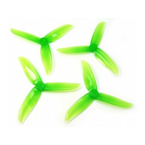 "DAL 5"" T5046C 3-Blade Cyclone Propellers, Crystal Green"